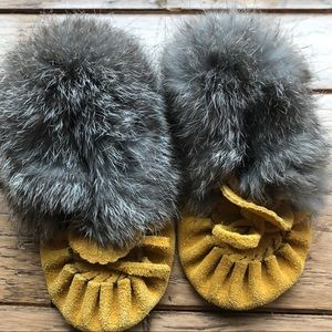 Other - Leather Baby Moccasins